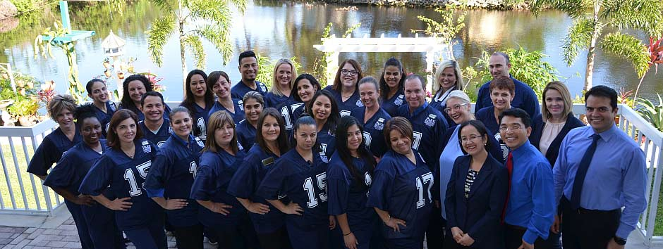 The whole team at Park Family and Cosmetic Dentistry